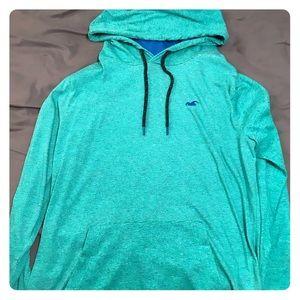 Hollister Lightweight Hoodie (Turquoise)